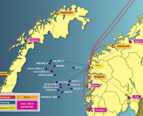 Nytt seglingsmønster Statoil