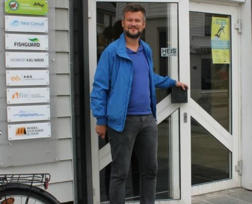 Kjartan Aa Berge og EY etablerar kontor i Horne Brygge