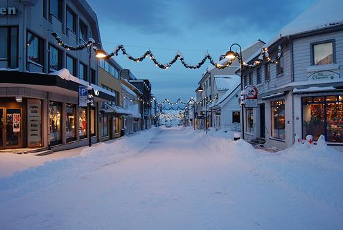 Julegata Florø