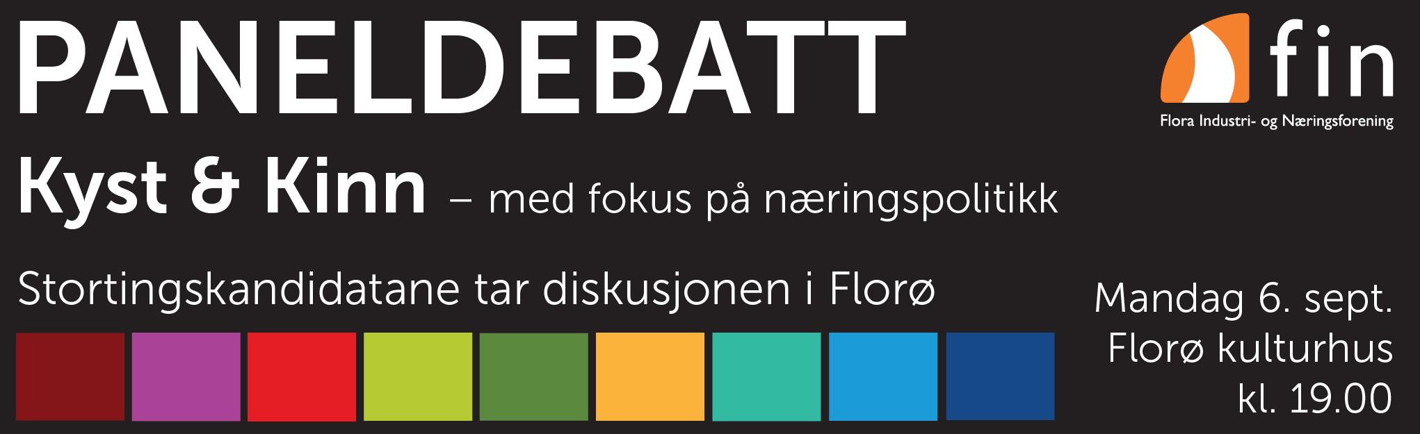 FIN annonse paneldebatt 6.9.2021